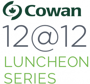 Cowan 12@12 Luncheon Series logo