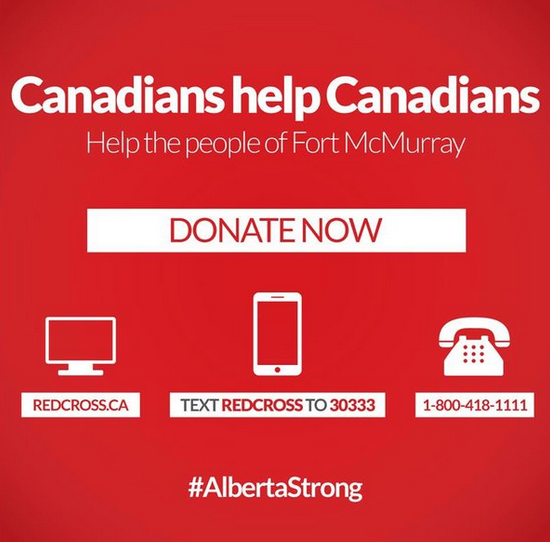 Fort McMurray Greater KW Chamber of Commerce Kitchener Waterloo Donate Relief Help Canadians Alberta Blog